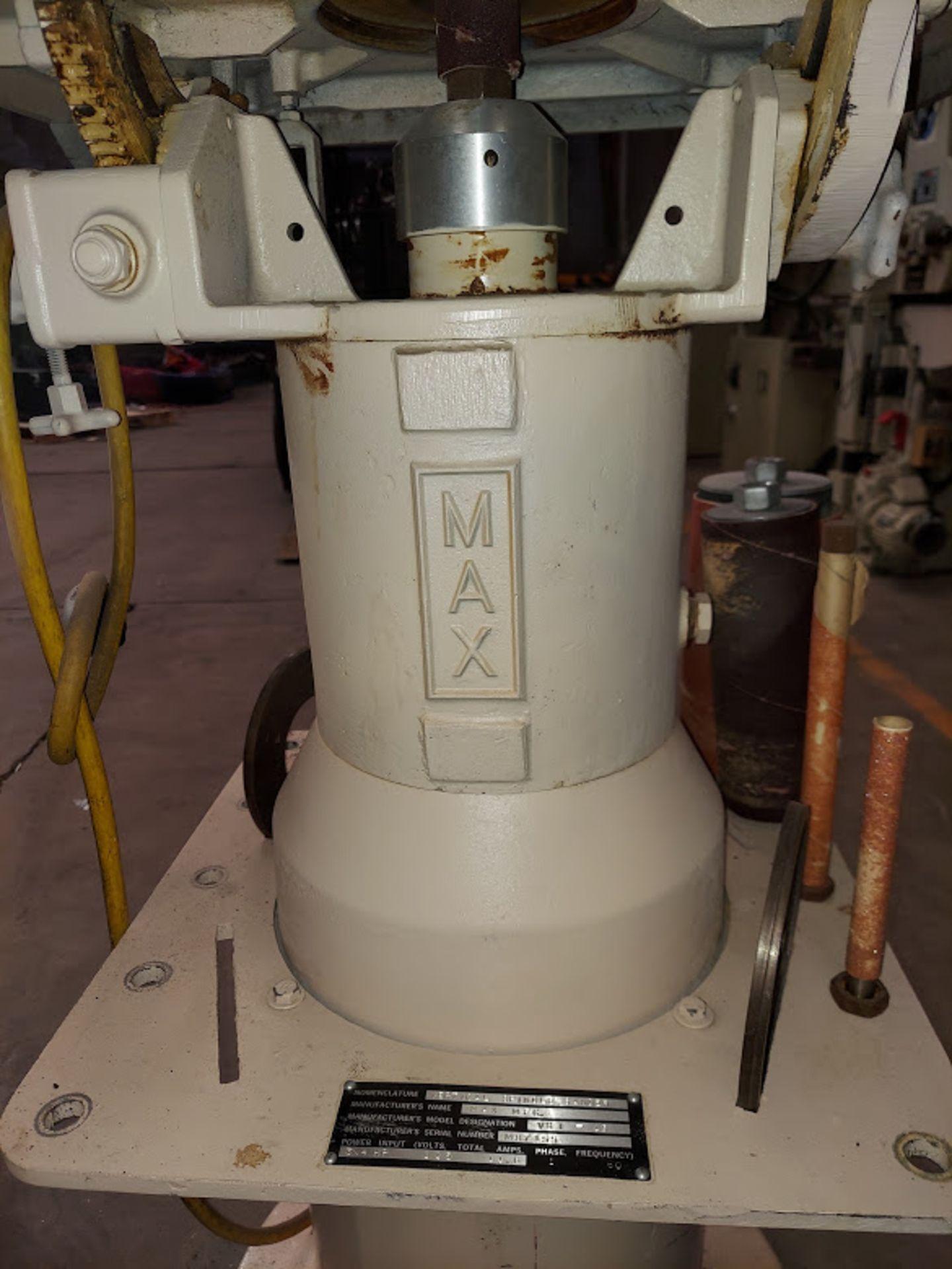 Max Industrial Oscillating Vertical Spindle Sander, Model #VSI-15, 5 - Spindles & Plates, 115 Volts - Image 2 of 5