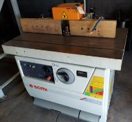 SCMI Wood Shaper, Model #T130, 6.6 Hp 230-460 Volt