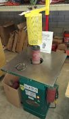 Grizzly Vertical Spinde Sander, Model #G1071, 1 Hp 120-240 Volt 1ph, With extra sanding drums &