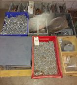Pallet of Bolts, Nuts, Washers, & Misc hardware