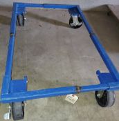 "Blue Furniture Cart, 25"" x 38"""