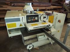 SCMI Model #M3 Heavy Duty 6-Blade Gang Rip Saw, 55 Hp 230-460 Volt 3ph, Year 2004 Built Machine