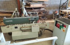 SCMI Center Machine, Model #Center, 1 - Shaper Head 230 Volt 3ph, Sanding Station, Power Feed Drive,