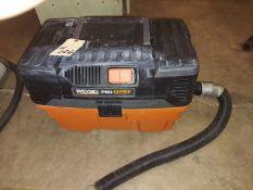 Ridgid Pro Pak Wet Dry Vac, 120 Volt