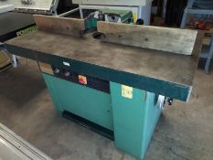 Seco Wood Shaper Model #Sk34SP 7.5 Hp 230 Volt