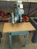 "Delta 12"" Radial Arm Saw, Model #33-890, 2 Hp 230 Volt 1ph"