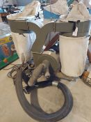 Grizzly 4 bag dust collector 3hp 115/230 volt 1ph motor