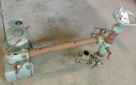 Holz-Her 3 wheel power feeder Model # t-117 115 volt 1ph motor