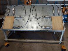 Unique door clamping table Model # 280