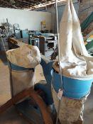 Kufo 4 bag dust collector 3hp 110/230 volt 1ph motor