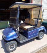 48 volt Columbia golf cart Desert edition front & rear windows new tires needs batteries