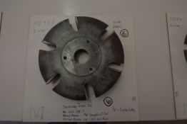 Shaper Cutters, Cherokee Tool Co - No. 622 . T, Raised Panel - Top and Bottom or Left and Right,