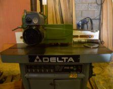 "Delta Invicta RS15 Shaper, 7-1/2 hp 3 PH 230 - 460V Motor, 1"" and 1-1/4"" Arbors, Forward / Reverse,"