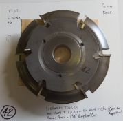 Shaper Cutters, Cherokee Tool Co, (2) No. 2019 . T Raised Panel Cutters ( 1 C/W and 1 C/C/W Rotatio