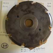 "Shaper Cutters, Cherokee Tool Co, (2) No. 647 . 2 . T 7/8"" Rail (Cope) Cutters, No Center Cutter,"
