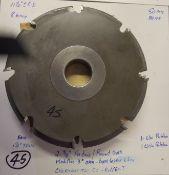 "Shaper Cutters, Cherokee Tool Co, (2) No. 1761 . T, 3/8"" Radius / Roundover - Modified 3 Degrees O"