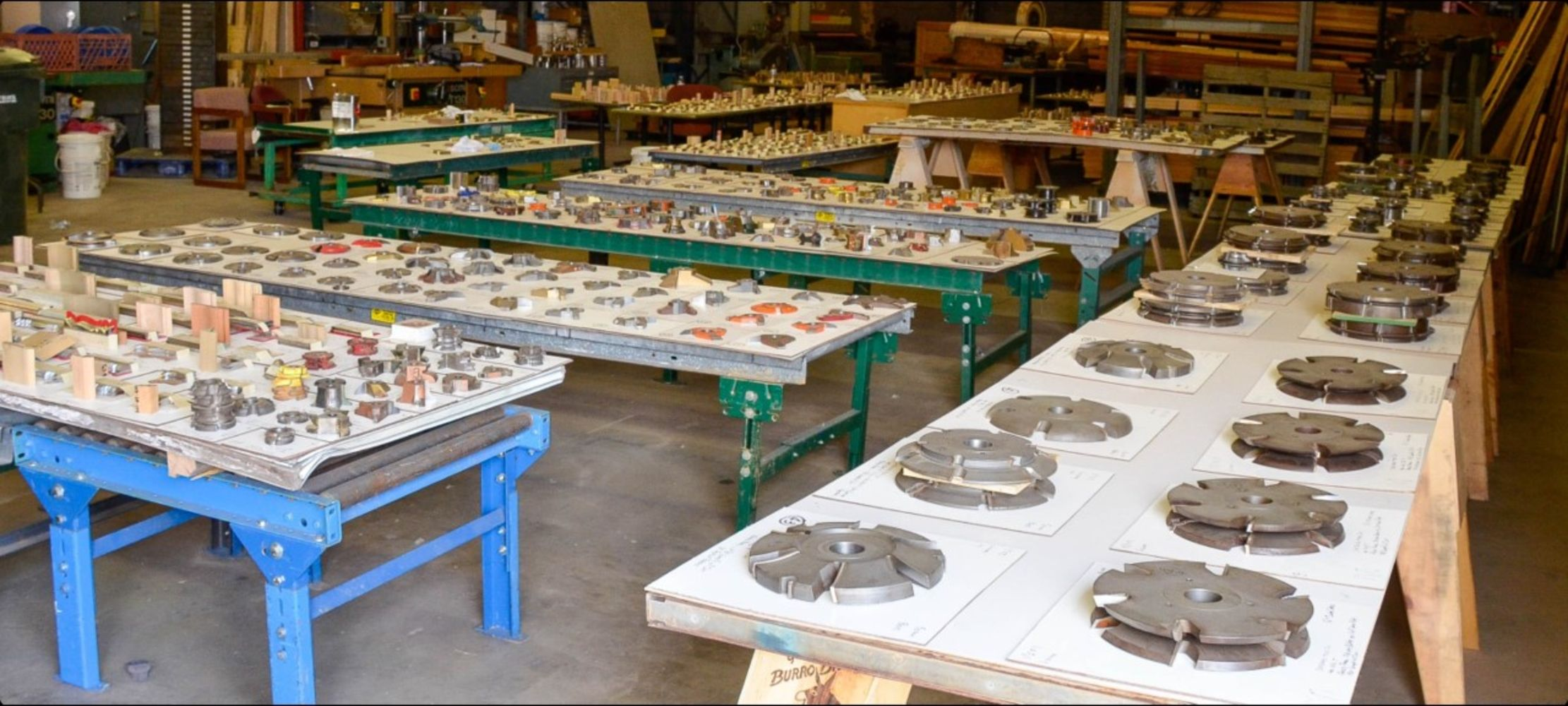 SPECIALIZED MILLWORK - SELLING DOOR SHOP EQUIPMENT, TOOLING, SHAPERS, CUTTERS, MOULDER KNIVES, & MORE!