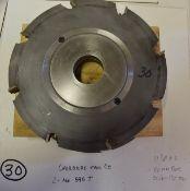 "Shaper Cutters, Cherokee Tool Co, 2 No. 595 . M . T, 11-1/2"" Outside Diameter, 50 mm Bore, St"