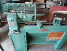 Powermatic Wood Lathe, Model #45, Varible Speed 220 volt 3ph Motor