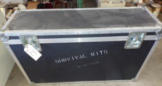 """Road Traveling Security Case, TV Storage, Case size 46"""" x 28"""" x 14"""""""