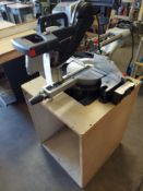 """Admiral 12"""" Dual Bevel Sliding Compound Miter Saw with Cabinet"""