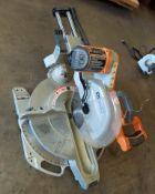 "Ridgid 12"" Dual Bevel Sliding Miter Saw, Model #MS1290LZ"