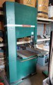 "Powermatic 36"" Wood Cutting Bandsaw, Model #BW900, 7.5 hp 230/460 volt 3ph Motor"