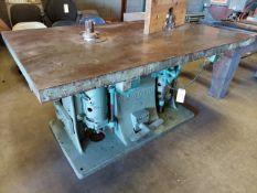 "Baxter D. Whitney & Son 2 Head Wood Shaper, Model #251, 1"" Spindles, 2 - 220 volt 3ph Motors"