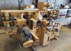 """SCMi 9"""" Wood Moulder, Model: P230 5 Head 6.6 hp 220/440 volt 3ph"""
