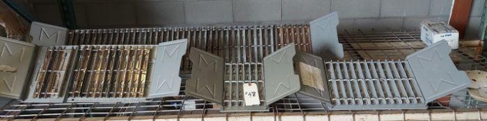 Master Hinged Catalog Rack, Qty. - 4