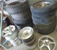 Lot of Misc. Tires & Rims