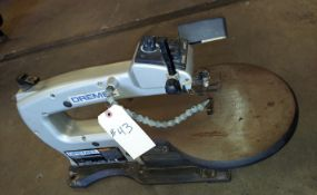 "Dremel 16"" Varible Speed Scroll Saw, Model #1680, 120 volt Motor"