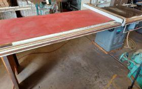 "Rockwell 10"" Unisaw Table Saw, Model #34-461, 3 hp 230/460 volt 3ph Motor, Biesemeyer 77"" Rails &"