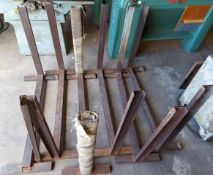 6 - Lumber Stands, 4' wide x 3' tall