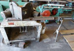 Pistorius Double Miter Saw W/Fence System, Model # MN-200, 2-Baldor 1.5hp 230/460 volt 3ph Motors