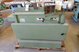 Brevetta 2 Spindle Molding Shaper with Powerfeed System, Model #SE2120, 7.5 hp 220 volt 3ph Motor
