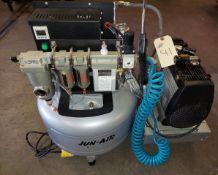 Jun Air Compressor, 120 volt 1ph Motor