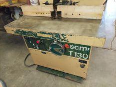 """SCMI T130N 1-1/4"""" Spindle Wood Shaper, 7.5 Hp 230 Volt 3ph Motor"""