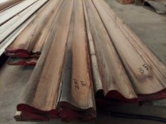 "6-1/2"" Red Oak Crown Molding 11'-12"" Lengths, 5"" Red Oak Bar Edge 9'-14' Lengths, 9"" Red Oak Crown"