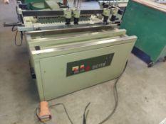 SCMI MB 29 Construction Line Boring Machine, Horizontal & Vertical Line 32mm Boring Machine