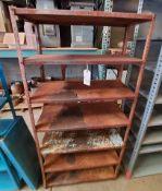 "Steel Storage Shelving (Rack), 36"" x 15"" x 75"" Tall, 7 - Shelves"
