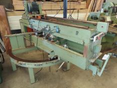 Midwest Automation, Inc. Countertop Saw, Model # 5033, 5 Hp 230/460 Volt 3ph, 4-Porter Cable #690