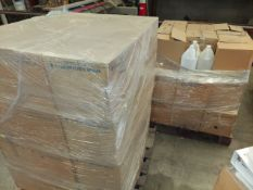 2 - Pallets of New 1 Gallon Plastic Bottles with Lids