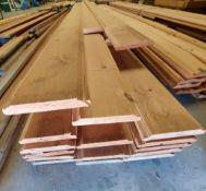"6-1/4"" Knotty Pine Molding, 14'-16' Lenths"