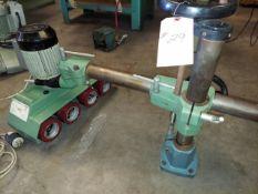 Maggi Steff Model #2044, 4 Wheel Power Feeder, 230 Volt 3ph
