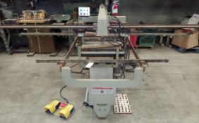 Busellato Dowel Boring Machine, 2 - Drill Units From Bottom, 1 Drill Unit From The Face Side, Each