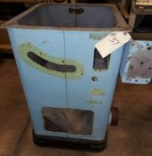 """Delta Rockwell 10"""" Unisaw Cabinet with Cast Iron Base"""