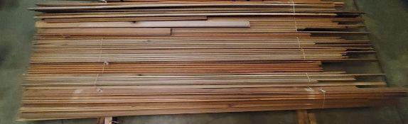 "Lot of 2-3/4"" Poplar Molding 8' - 10' Lengths"
