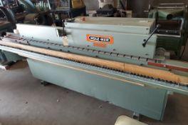 Holz Her Edge Bander, Model #1403, Top & Bottom Trim Motors, 230 Volt 3ph