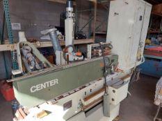 SCMI Center Machine Shape & Sand, Motor is 9 HP 220/440 Volt 3ph